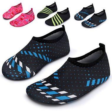 L-RUN Kids Swim Barefoot Water Shoes For Kids