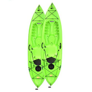 Lifetime Tioga Sit On Top Kayak with Paddle (2 Pack)