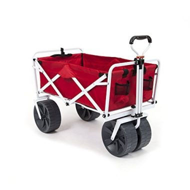1b36ee451 Mac Sports Heavy Duty Collapsible Folding All Terrain Wagon Beach Cart