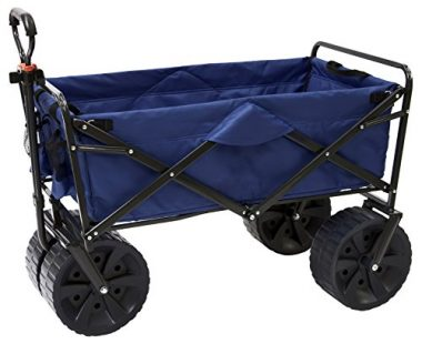 Heavy Duty Collapsible All Terrain Beach Cart Wagon by Mac Sports
