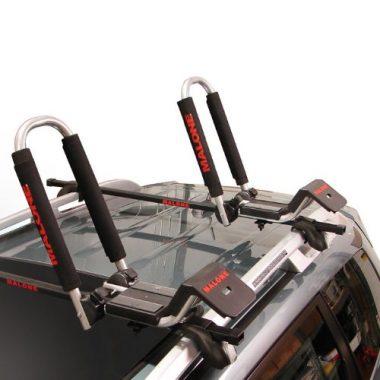 2.Downloader Folding J-Style Universal Car Rack Kayak Carrier By Malone