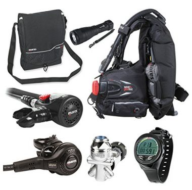 Mares Abyss 42 Regulator Scuba Diving Gear Package