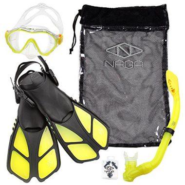 Sports Kids Snorkel Set by NAGA