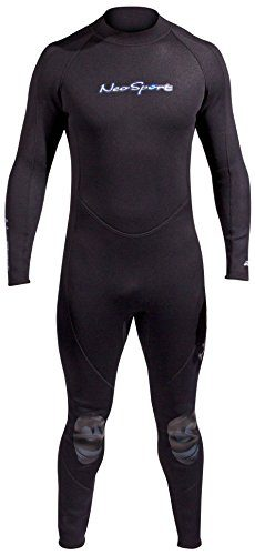 NeoSport Men's Premium Neoprene 5mm Full Wetsuit