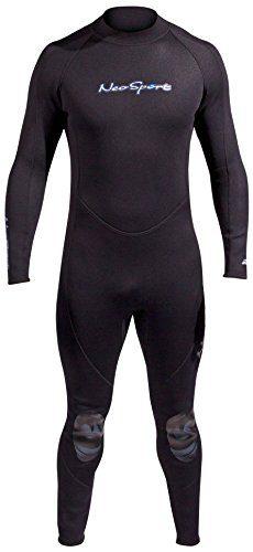 NeoSport Men's Premium Neoprene 5mm Full Wetsuit