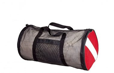 New ScubaMax Flag Mesh Duffel Dive Bag