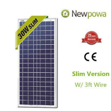 Newpowa 30w Poly Solar Panel
