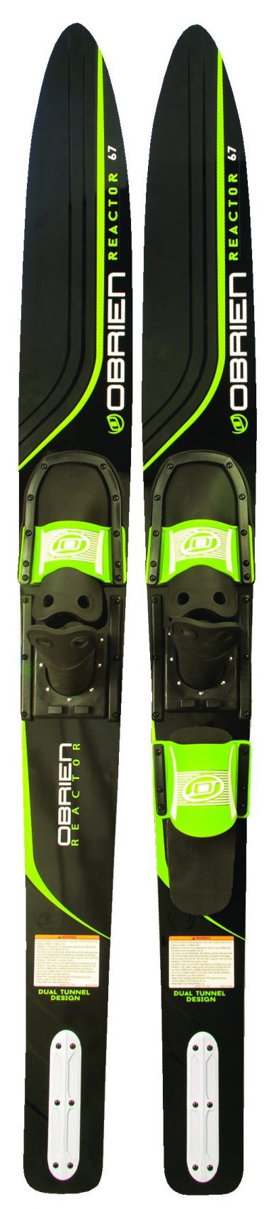 O'Brien Reactor Combo Bindings Water Skis