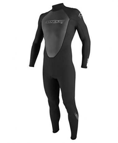 O'Neill Mens 3/2mm Reactor Back Zip Full Wetsuit