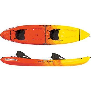 Ocean Fishing Kayak 12-Feet Malibu Tandem Sit-On-Top