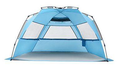 Pacific Breeze Easy Up Deluxe XL Beach Tent