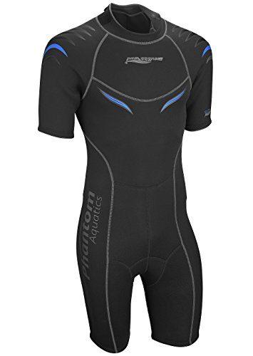 Phantom Aquatics Men's Marine Shorty Wetsuit