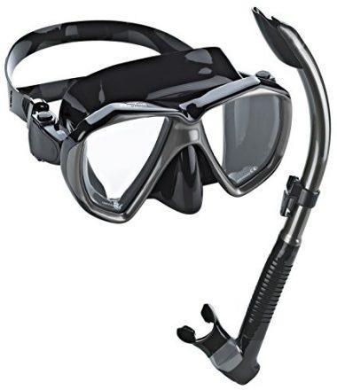 Phantom Aquatics Velocity Snorkeling Mask Snorkel Set