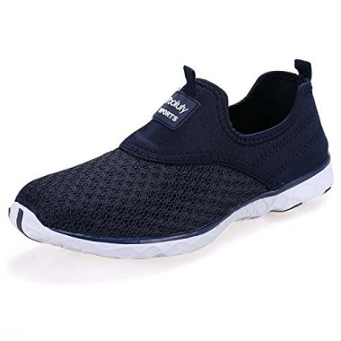 Pooluly Women's Lightweight Athletic Water Shoes