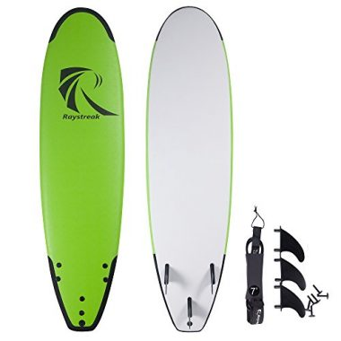 Raystreak Crocodile Groove Soft Surfboard