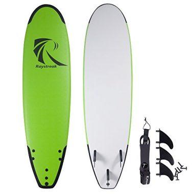 Raystreak Crocodile Groove Soft Surfboard