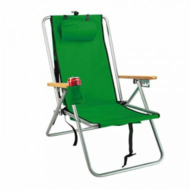 WearEver Hi-Back Deluxe Steel Backpacker Chair by Rio Brands