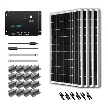 Renology 400 Watt 12 Volt Monocrystalline Solar Panels For Sailboat