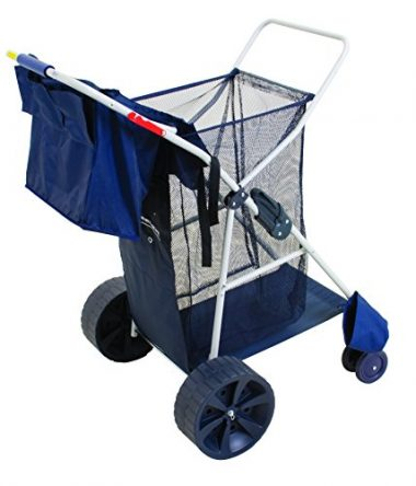 Rio Deluxe Wonder Wheeler Wide Beach Cart
