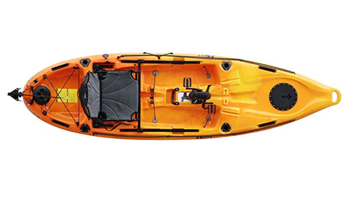 Riot Mako 10 Impulse Drive Pedal Kayak