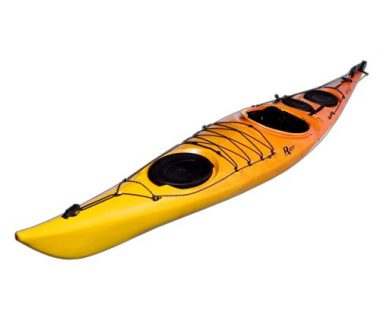 Riot Kayaks Brittany 16.5 Flatwater Touring Kayak with Skeg and Rudder