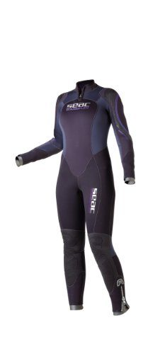 SEAC Women's Warm Flex Plus 5mm Neoprene Full Body Wetsuit