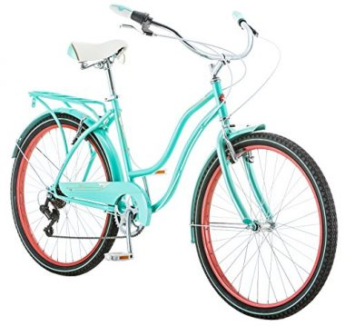 Schwinn Ladies Perla 7 Speed Cruiser Bicycle 26″ Wheels