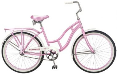 Schwinn Destiny 24-Inch Cruiser Bicycle, Pink