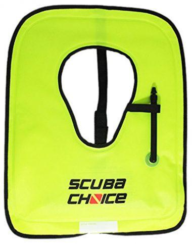 Scuba Choice Scuba Choice Adult Neon Yellow Snorkel Vest