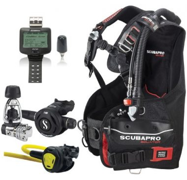 ScubaPro Equator BC Scuba Gear Package