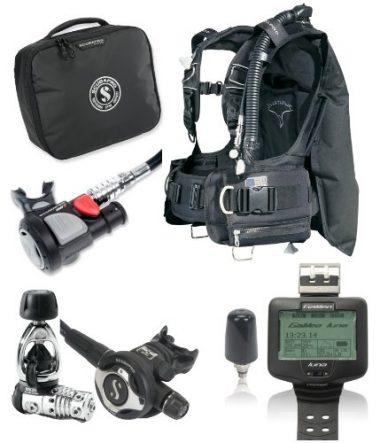 ScubaPro KnightHawk BC Scuba Gear Package
