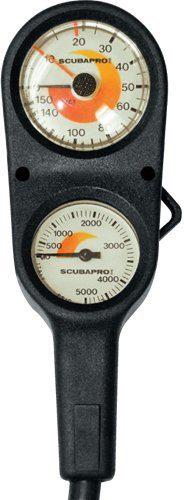 ScubaPro Depth And Pressure Gauge