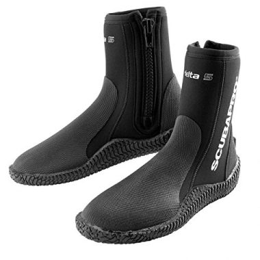 Open-Minded Aqualung 3mm Superzip Ergo Boot Scuba Diving Boots Booties Sporting Goods Water Sports Size 10
