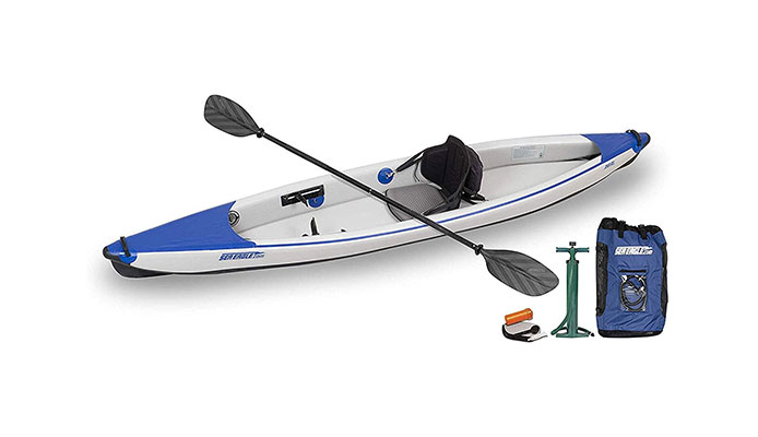 Sea Eagle Razorlite 393rl Inflatable Touring Kayak