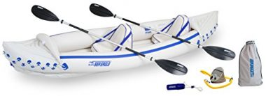 Sea Eagle SE370K_P Inflatable Tandem Kayak with Pro Package