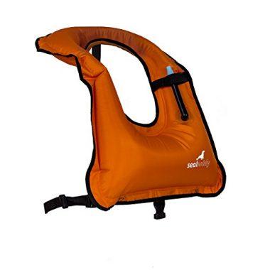 SealBuddy Inflatable Snorkel Vest