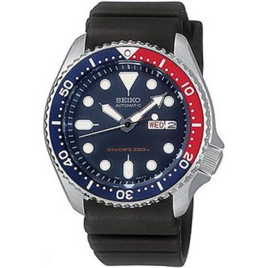 Seiko Divers Automatic Deep Blue Divers Mens Watch SKX009K1