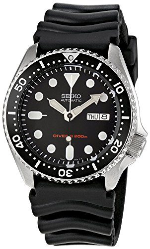 Seiko Men's SKX007K Automatic Diver's Dive Watch