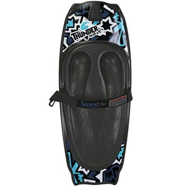 SereneLife Water Sport Kneeboard with Hook For Kids & Adults
