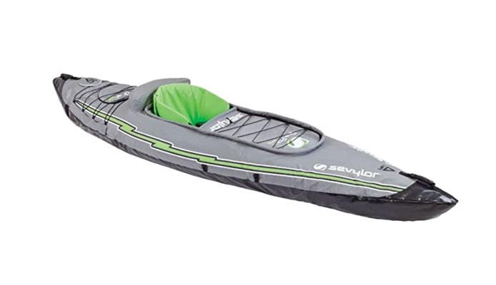 Sevylor Quikpak K5 1 Person Inflatable Kayak