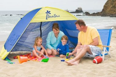 Shade Shack Instant Pop Up Family Sun Shelter and Beach Tent