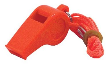 Shoreline Marine Emergency Survival Whistle
