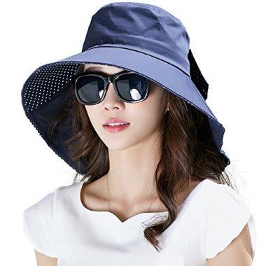 Siggi Womens' Summer Cotton Cover Sun Hat