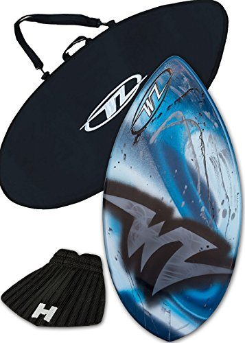 Skimboard Package – Fiberglass Wave Zone Edge + Board Bag + Traction Pad