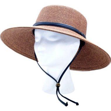 Sloggers Wide Brim Braided Women's Sun Hat