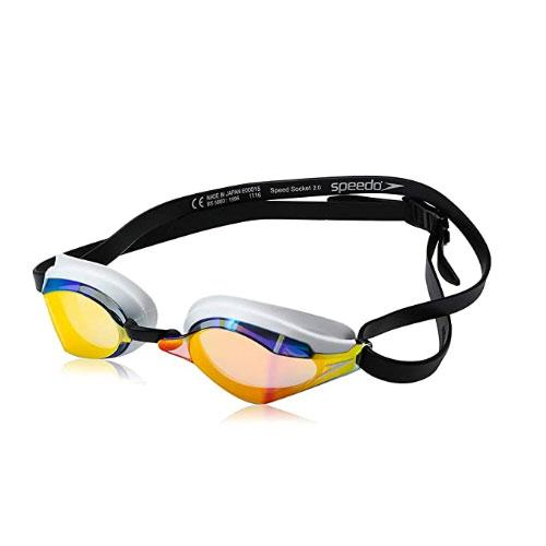 Speedo Socket Mirrored Swimming Goggles
