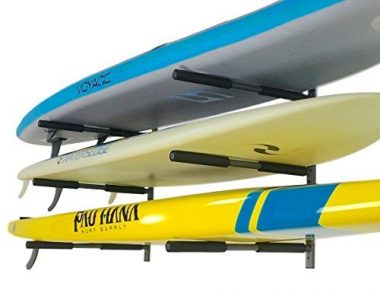 SUP Rack | 3 Paddleboard Wall Storage | StoreYourBoard