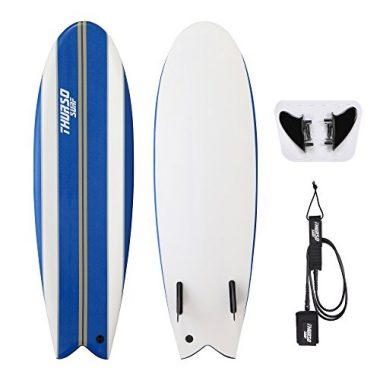Thurso Surf Lancer Fish Soft-Top Surfboard package