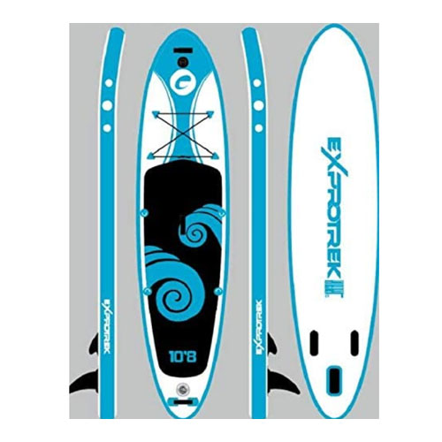"""TOWER Inflatable 10'4"""" Fishing Paddle Board"""