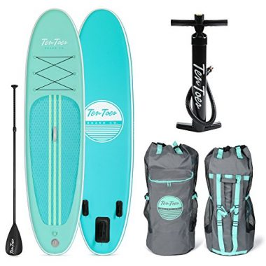 Ten Toes WEEKENDER 10-Feet Inflatable Paddle Board For Yoga